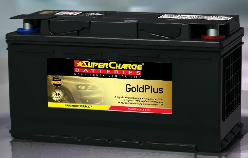 MERCEDES BENZ C320 CDI 2009 ON MF88H SuperCharge GoldPlus Battery