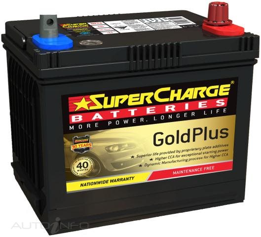 supercharge gold plus 40 months warranty battery mf52 my battery shop. Black Bedroom Furniture Sets. Home Design Ideas